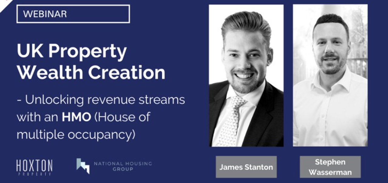 Wealth Creation – Unlocking revenue streams with an HMO (House of multiple occupancy)